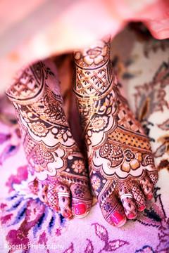 Inspiring bridal mehndi art