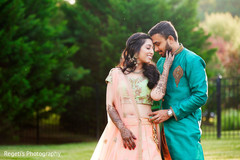 Lovely indian couple capture