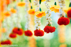 Haldi floral decor