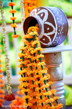 See this lovely haldi decor
