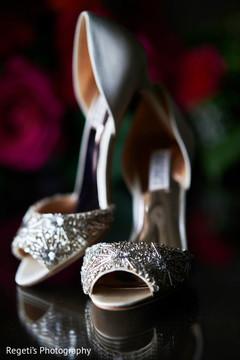 Indian bride designer shoes