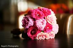 Indian bride flower bouquet