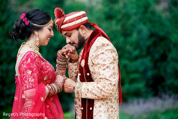 bridal lengha,red lengha,indian groom fashion