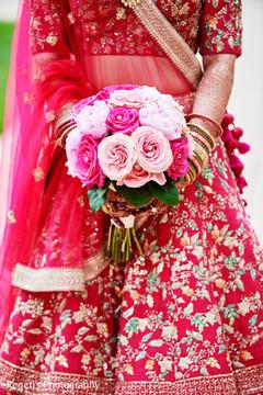Beautiful indian bridal bouquet