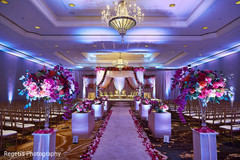 Magnificent indian wedding venue decor