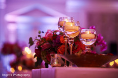 Romantic indian wedding decor
