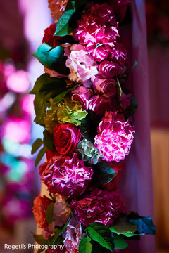 Indian wedding floral decorations