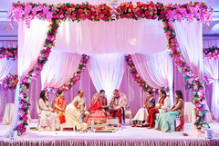 Spectacular indian wedding mandap