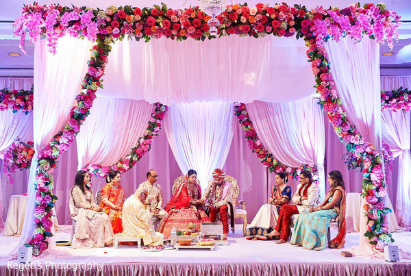 mandap,floral and decor,floral design,wedding design