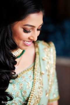 See this indian bride makeup style