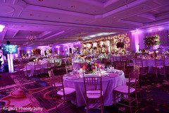 Indian wedding venue beautifully decorated