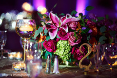 Elegant indian wedding centerpieces