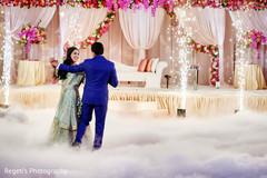 Magical indian wedding first dance scene