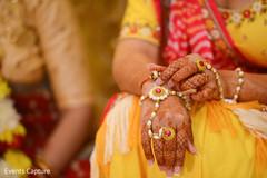 Magnificent Indian bridal Hath Panja bracelet capture.