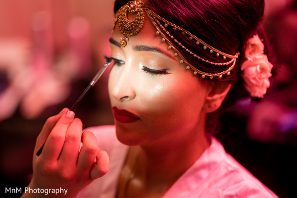 indian wedding,maharani,make up,getting ready