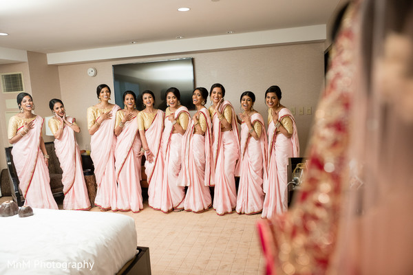 indian bride,sari,bridesmaids,capture