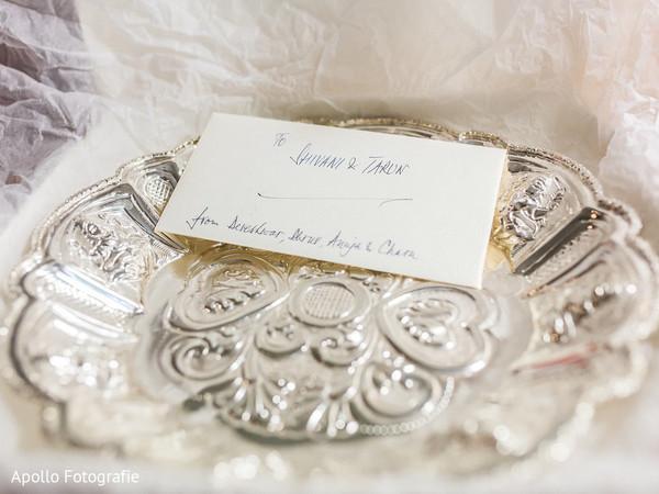 Indian wedding note