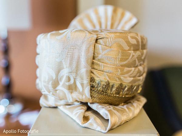 Lovely golden turban