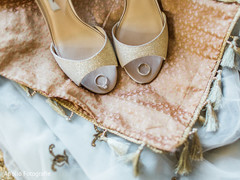 Fabulous indian bride's shoes
