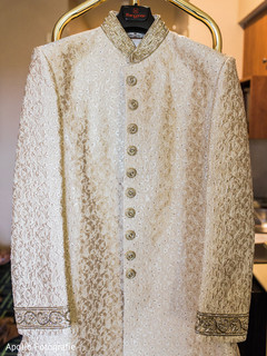 Beautiful and elegant golden sherwani