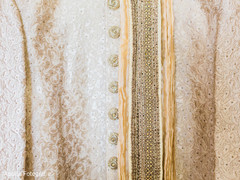 Beautiful sherwani details