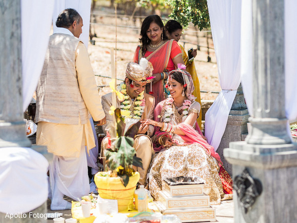 Indian wedding rituals continue for the Indian wedding