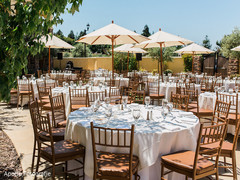 Outdoor indian wedding celebration