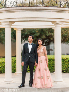 Glamorous indian couple