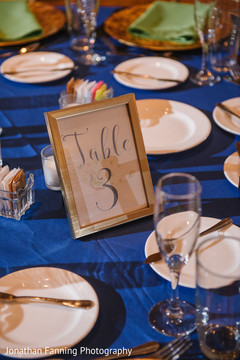 Graceful  table number capture.