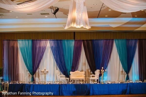 indian wedding reception decor,indian wedding reception stage,indian wedding table setup