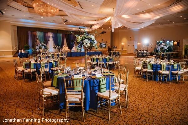 indian wedding reception decor,indian wedding table setup