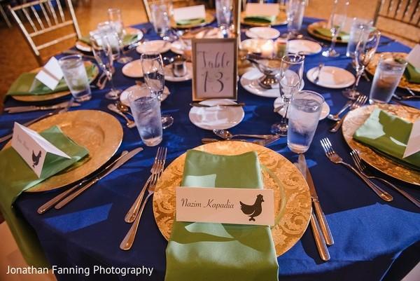 indian wedding reception decor,indian wedding table cards,indian wedding table setup