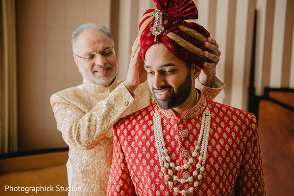 indian groom,getting ready,indian groom's fashion