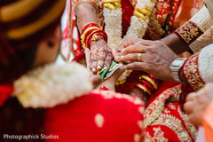 Kanyadan Indian wedding ritual capture.