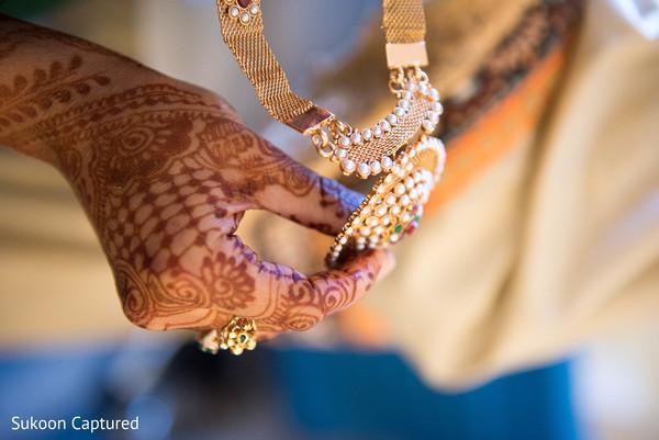 Marvelous Indian bridal Rani Haar necklace.
