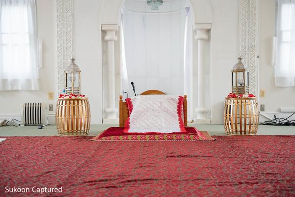 Dreamy Indian wedding ceremony decoration.