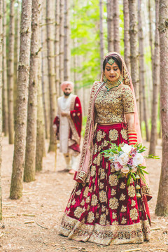 Dreamy indian wedding photo shoot