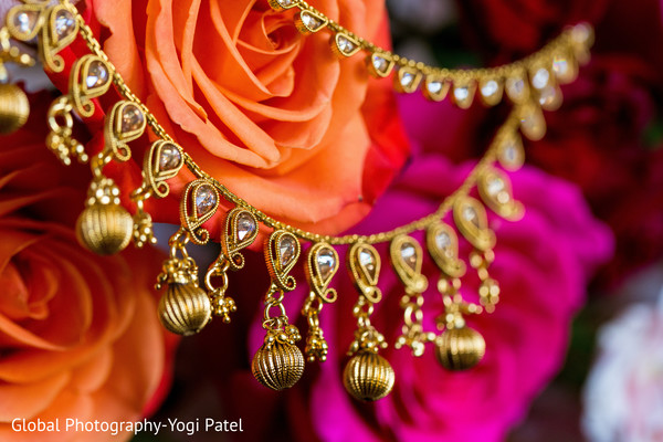 Close up of the gems used by the maharani
