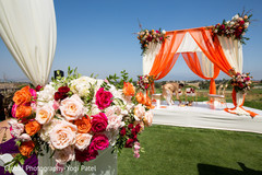 Fabulous indian wedding ceremony mandap