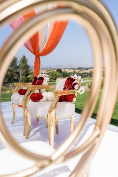 Beautiful indian wedding chairs