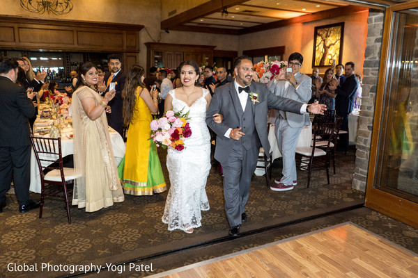 indian wedding reception,wedding fashion,dance,indian bride and groom