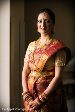 Portrait of the dazzling maharani before the ceremonies