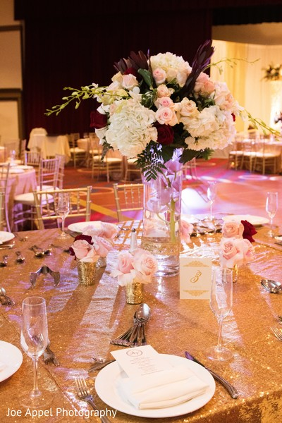 indian wedding,reception,design,tables