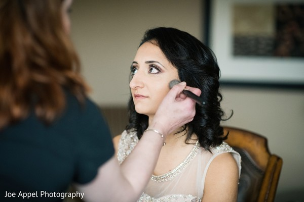 indian wedding,maharani,makeup,indian bride