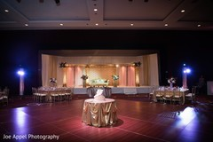 Overview of the Indian wedding venue decoration