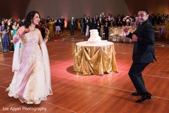 Indian newlyweds have a blast dancing during the reception