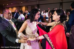 Maharani dancing with special guests during the reception