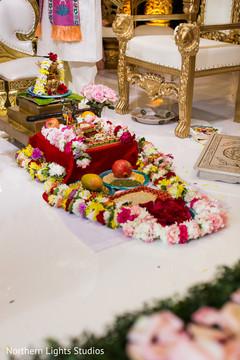 Wonderful Indian wedding ceremony flowers decorations.