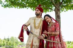 Fabulous indian couple's portrait.