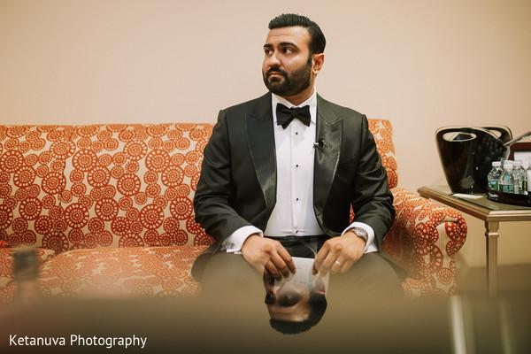 indian wedding,raja,indian groom,getting ready